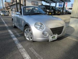 ダイハツ コペン アクティブトップ 平成23年10月 走行 12万1,557キロ 車両金額 77万円