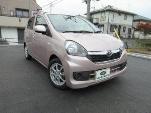 トヨタ ピクシスエポック X 平成27年9月 走行1万3,517キロ 車両金額 48万円