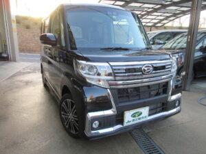 ダイハツ タントカスタムRSトップエディションSA3 平成30年5月 走行19,315キロ 車両金額 158万円