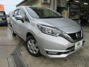 日産 ノート メダリストX H29年9月 走行7,700キロ 車両金額 98万円