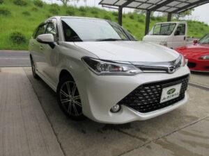 トヨタ カローラフィールダー 1.5G W×B 平成28年7月 走行距離53,900キロ 車両金額 138万円