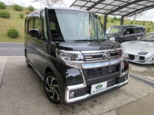 ダイハツ タントカスタムRS トップエディションVS SA3 令和1年6月 走行距離 2万5,787キロ 車両金額 168万円